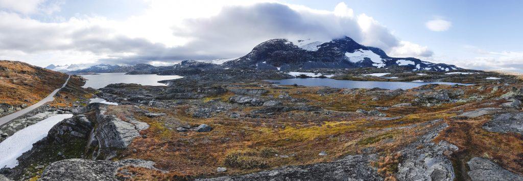 Ausblick Sogne Fjell Norwegen