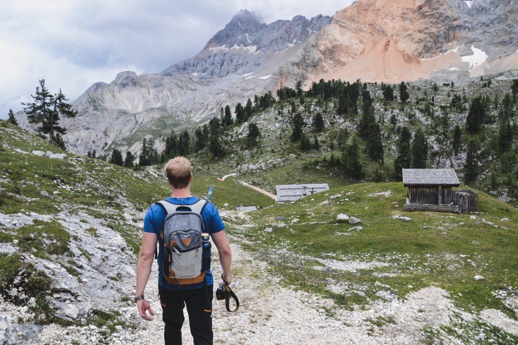 Dolomiten Hütte Rossalm Gaislermassiv