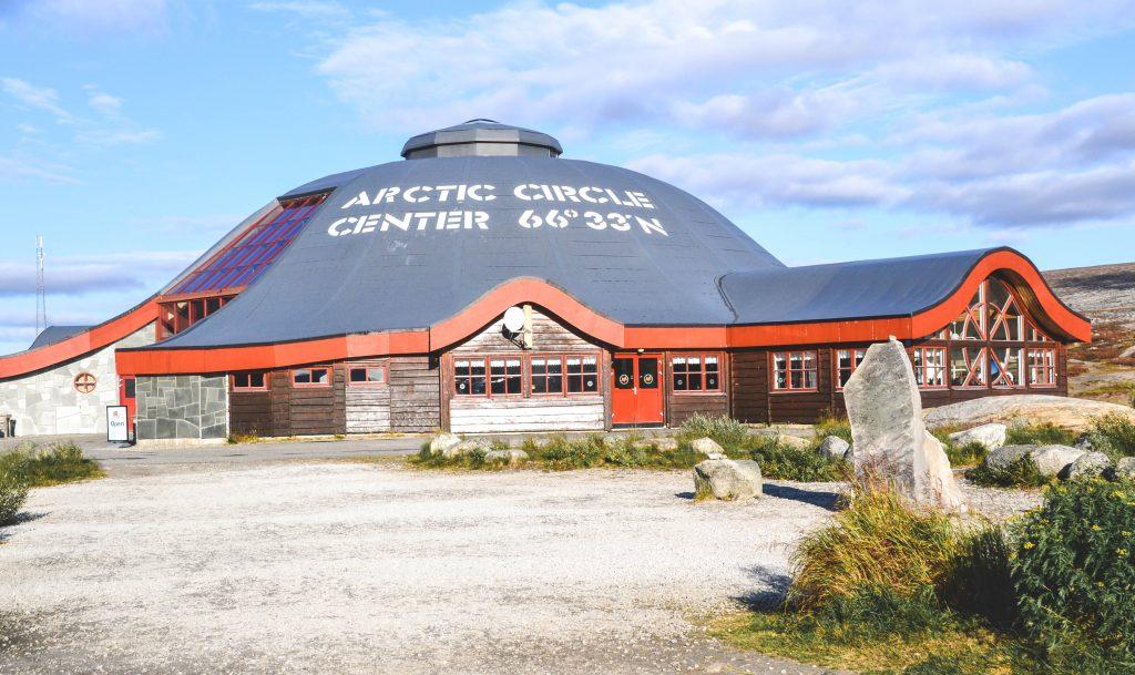 Artic Circle Norwegen Visitor Center