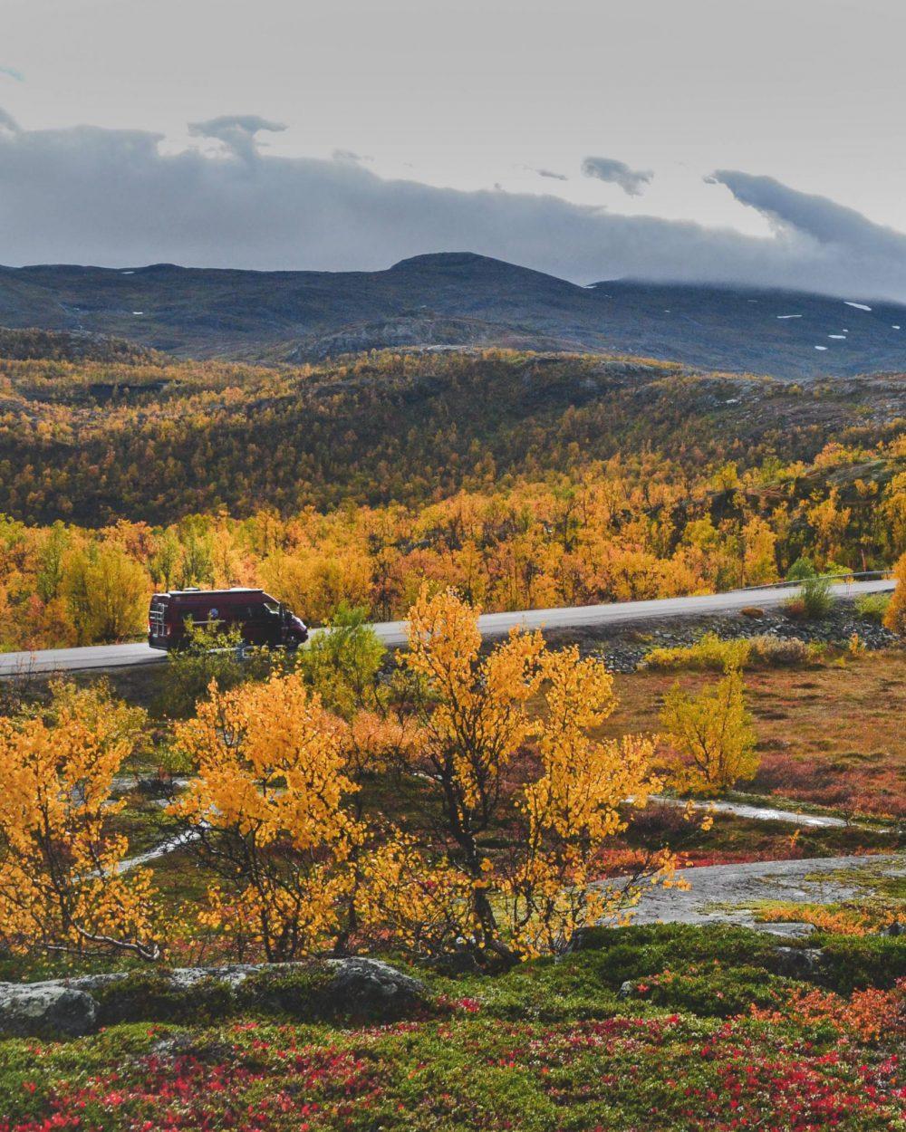 Camper in Norwegen