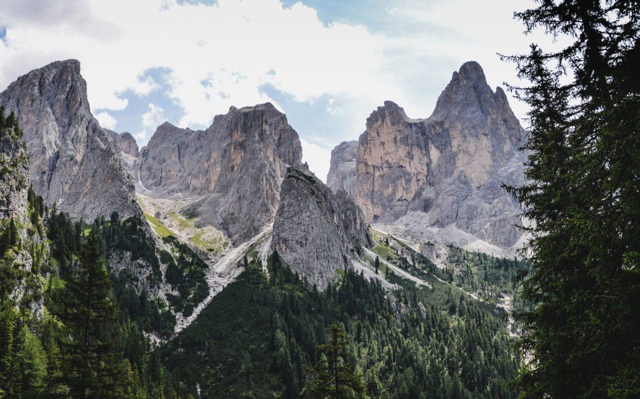Dolomiten Roadtrip Wanderung Ausblick