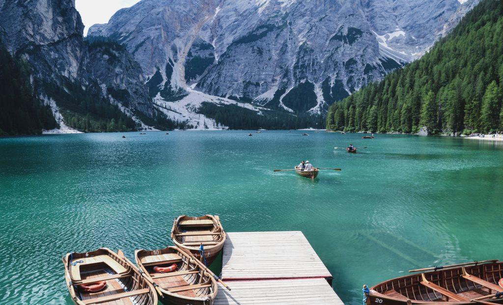Lago di Braies Italien Roadtrip