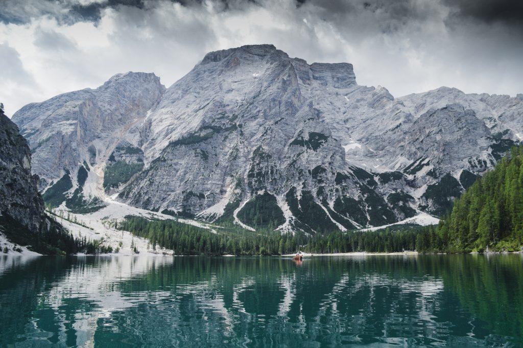 Panorama Lago di Braies
