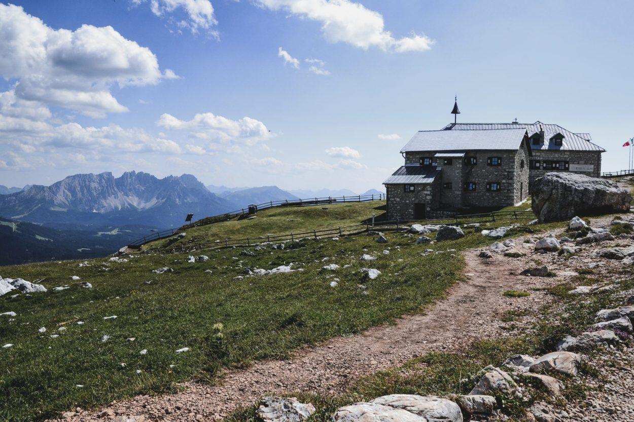 Schlern Haus Seiser Alm Italien Roadtrip
