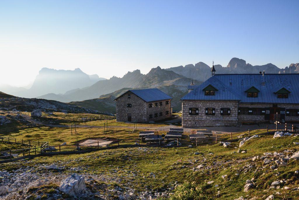 Schlernhaus Dolomiten Sonnenaufgang