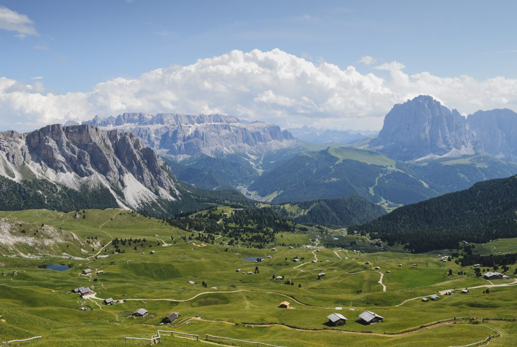 Seceda Ausblick Dolomiten Italien Roadtrip