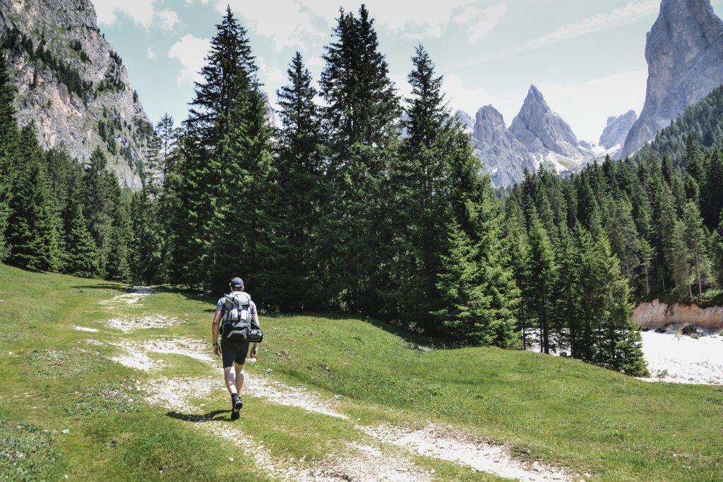 Seiser Alm Hüttenwanderung Südtirol