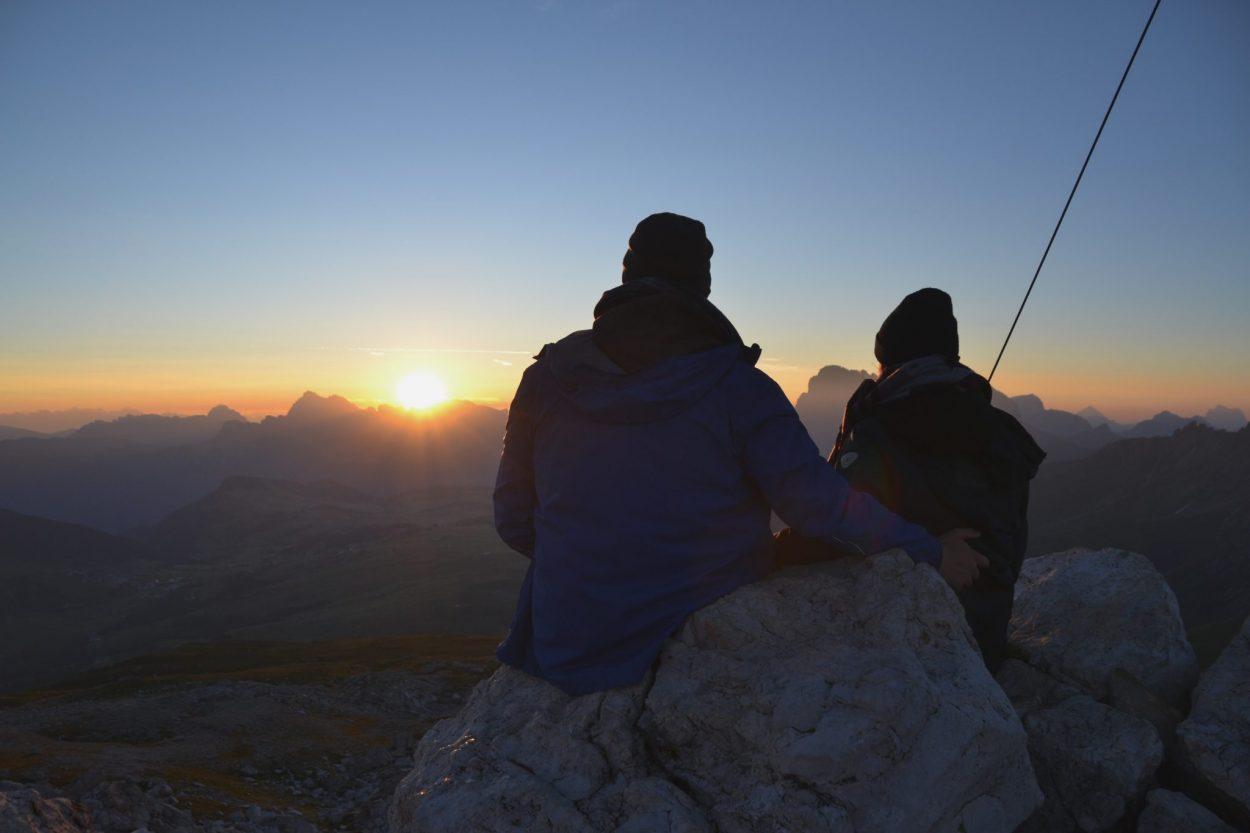 Sonnenaufgang Petz Schlernhaus Seiser Alm
