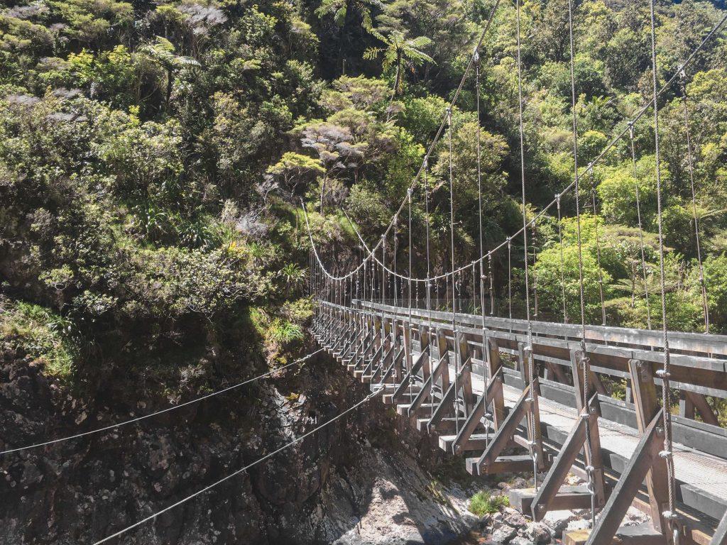 Bergwerk Hängebrücke
