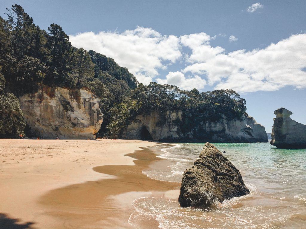 Cathedral Cove vom Hahei Beach