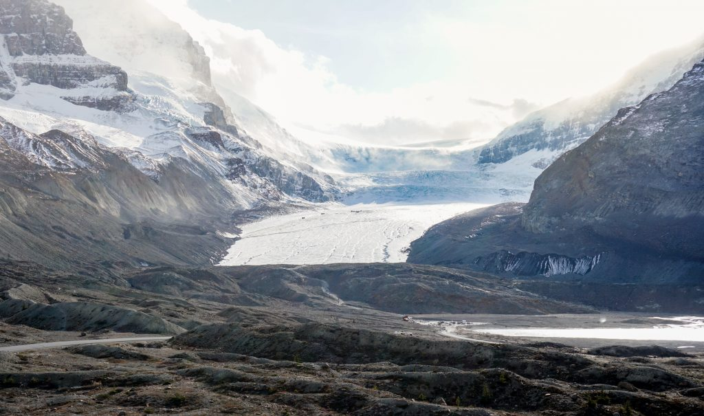 Athabasca Glacier Icefields Parkway
