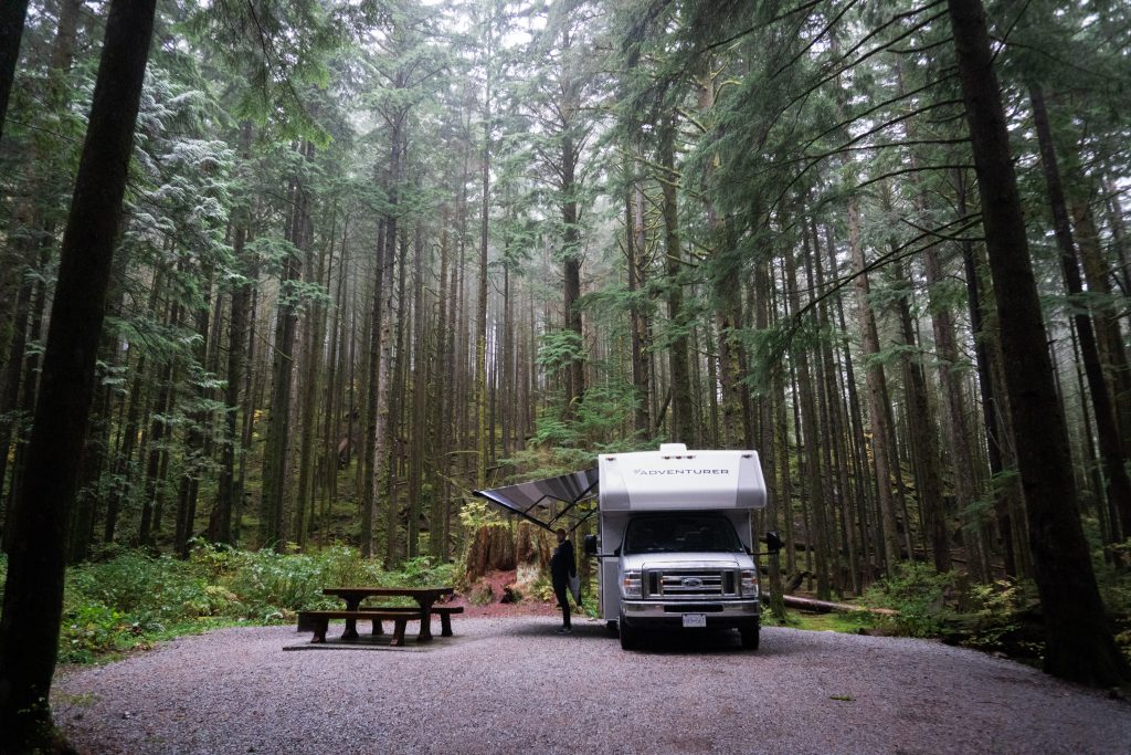 Campground Golden Ears Provincial Park