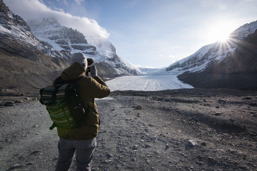 Athabasca Glacier Banff Nationalpark