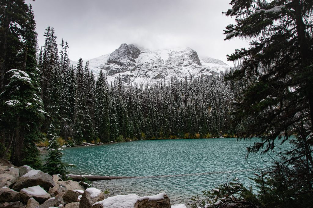 Joffre Lakes Provincial Park Middle Lake
