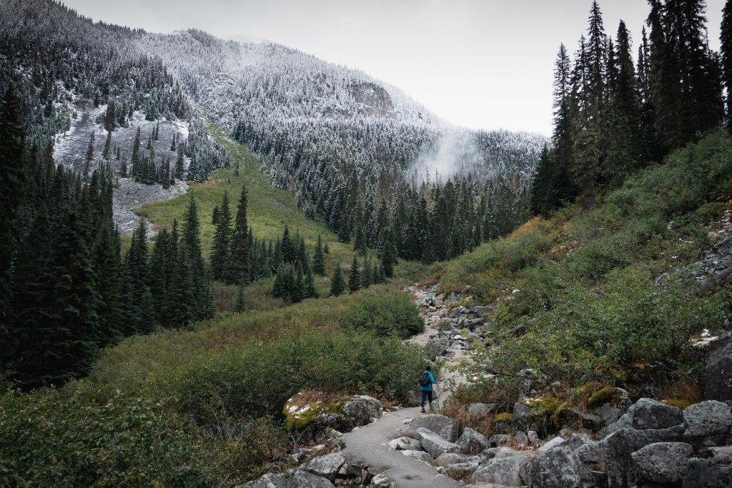 Joffre Lakes Provincial Park Wanderung