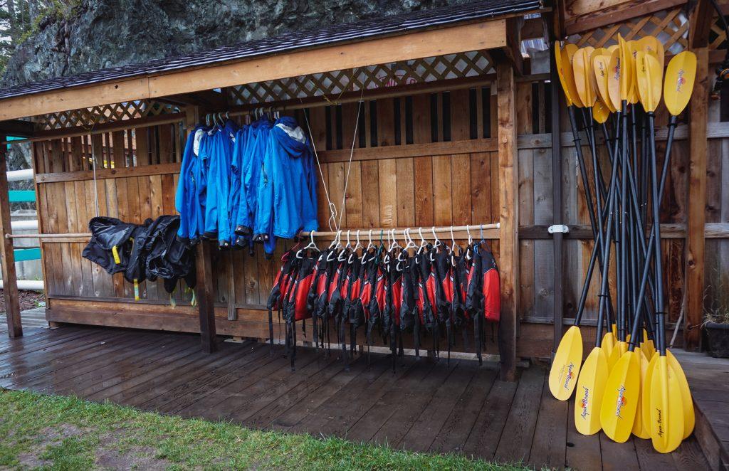 Kajakausrüstung North Island Kayaks