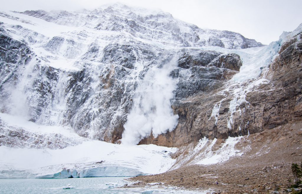 Mount Edith Cavell Angel Glacier