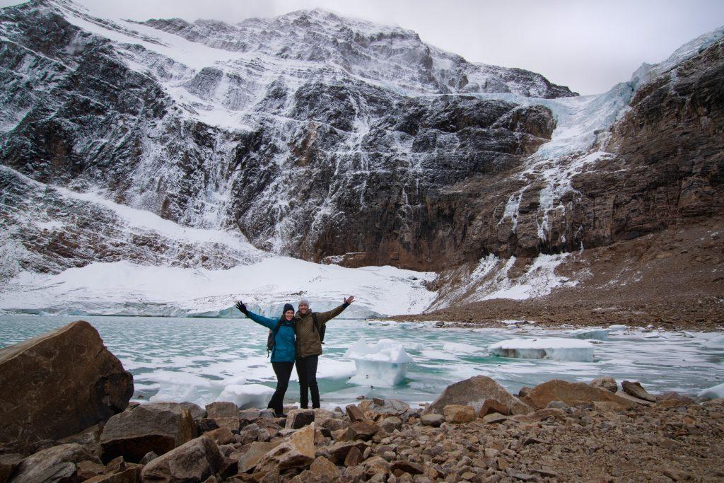 Mount Edith Cavell Glacier