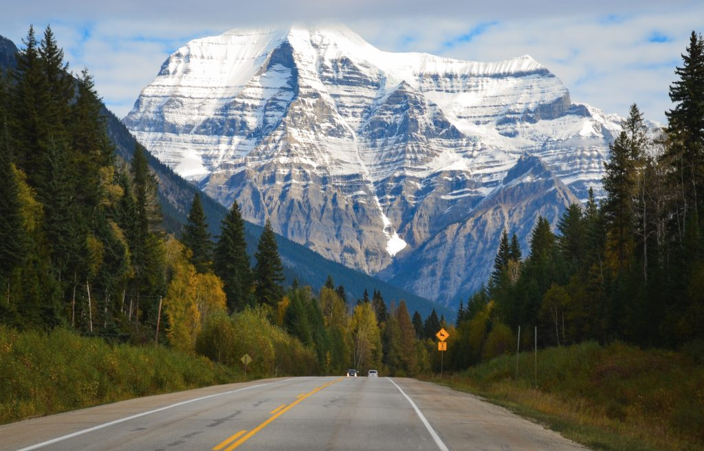 Panorama Mount Robson