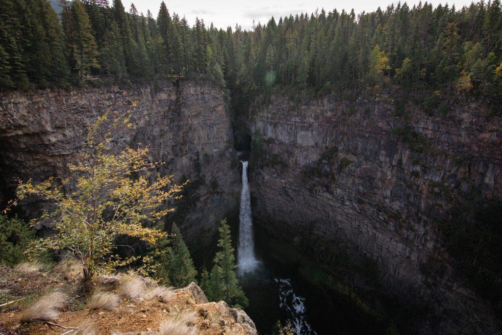 Spahat Falls Wells Gray Provincial Park