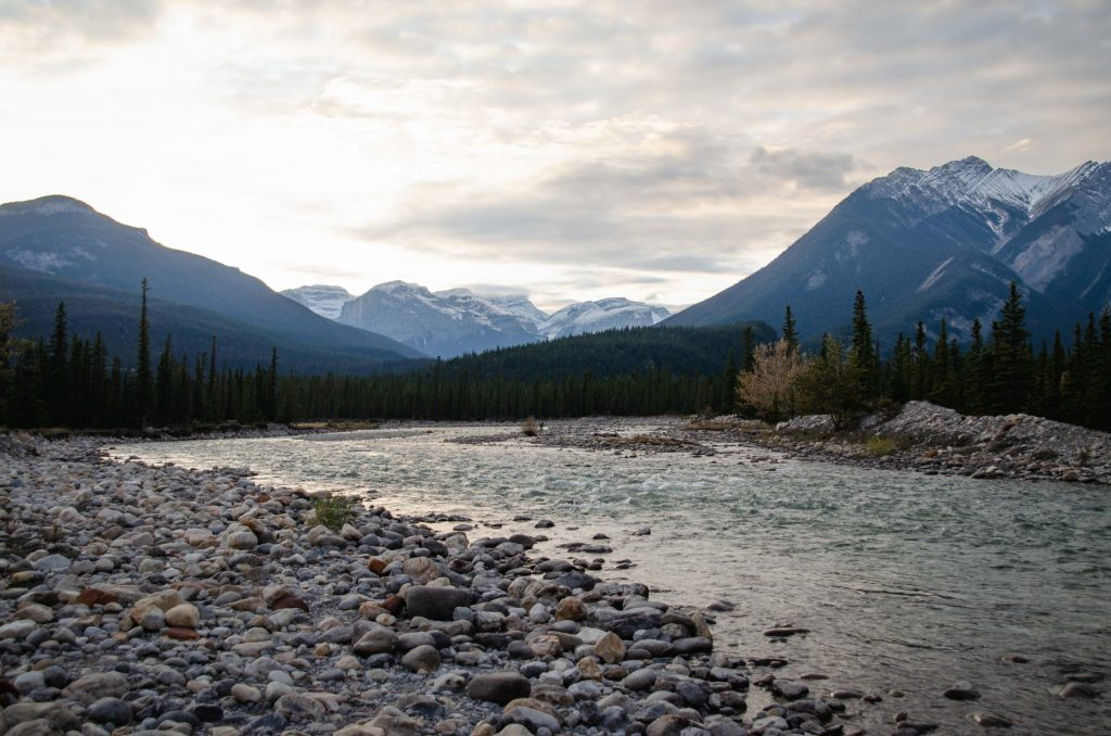 snaring campground fluss