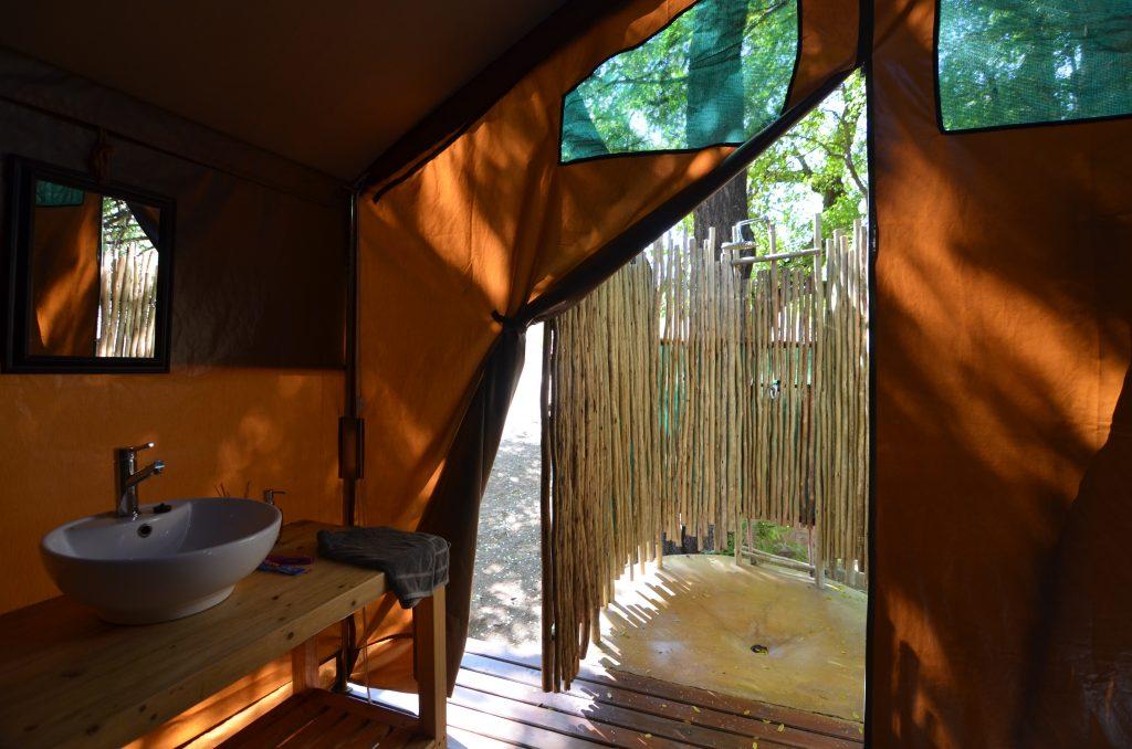 Badezimmer Safari Zelt