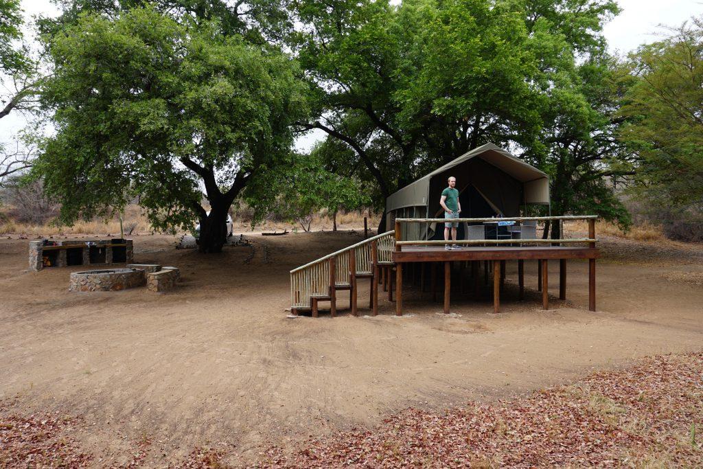 Southern Sands Eco Lodge Safari Zelt