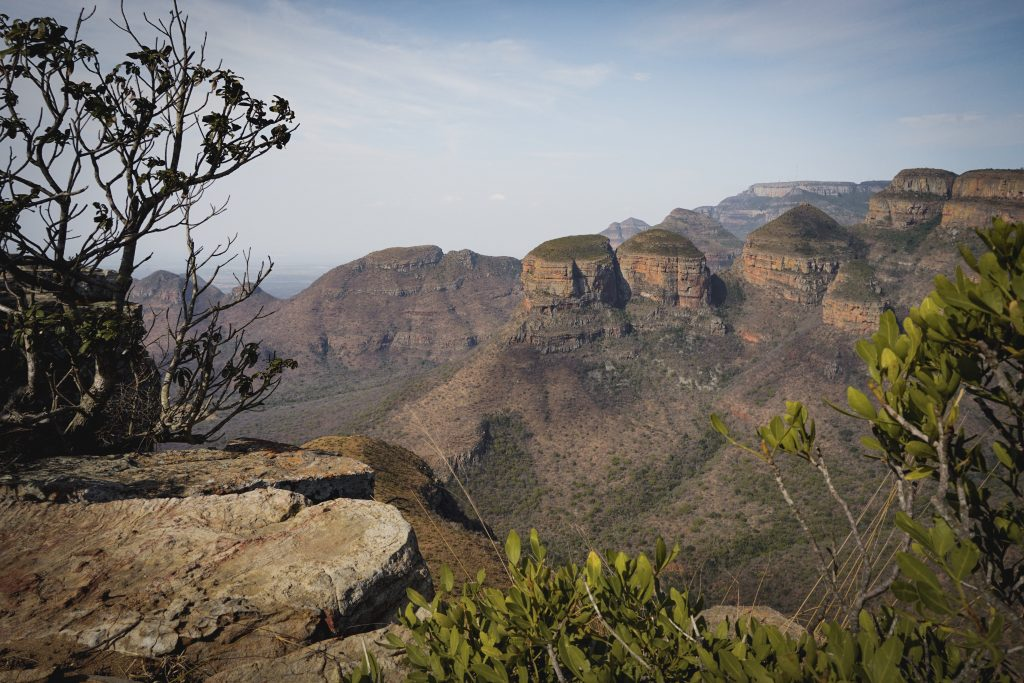 Three Rondavels Lookout Blyde River Canyon