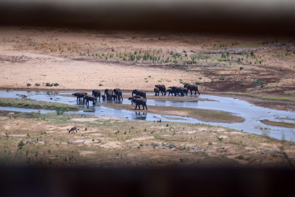 Aussicht vom Olifants Camp Krüger Nationalpark
