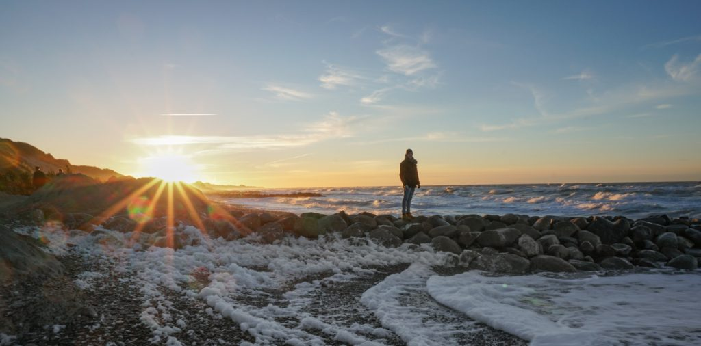 Dänemark - Sonnenuntergang in Skagen