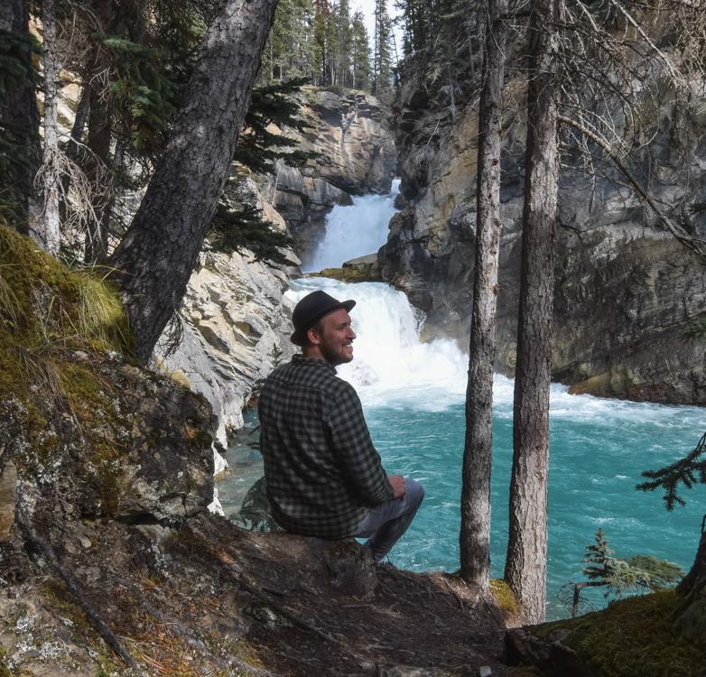Kanada - Wasserfälle am Icefields Parkway