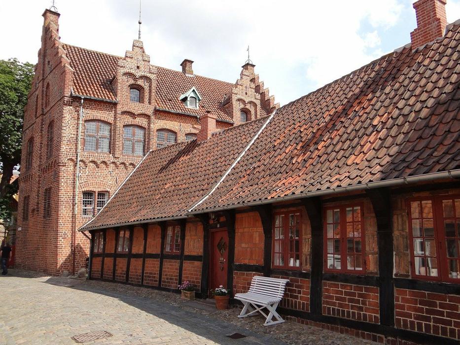 Dänemark Roadtrip Route Ribe Stadt
