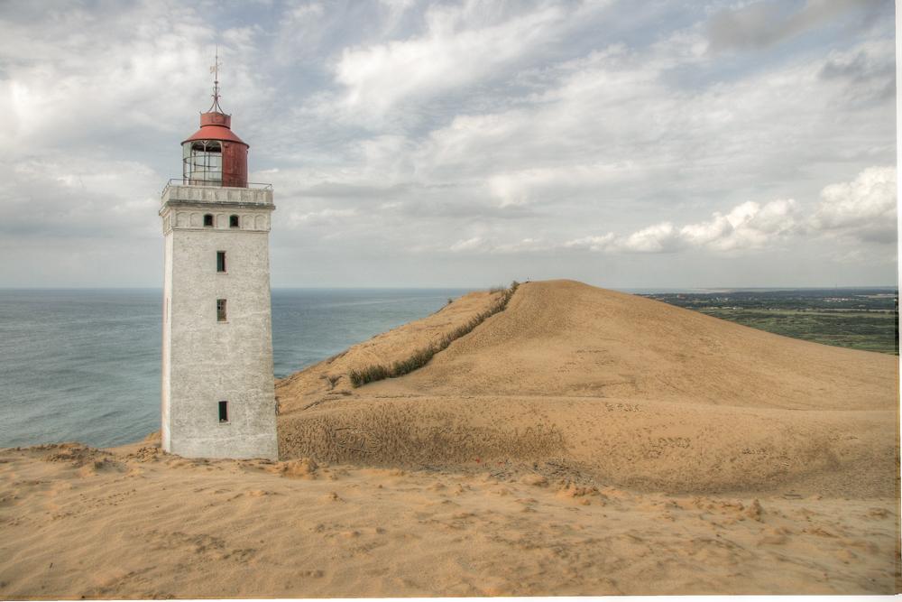 Dänemark Route Rudbjerg Knude Fyr Leuchtturmjpg