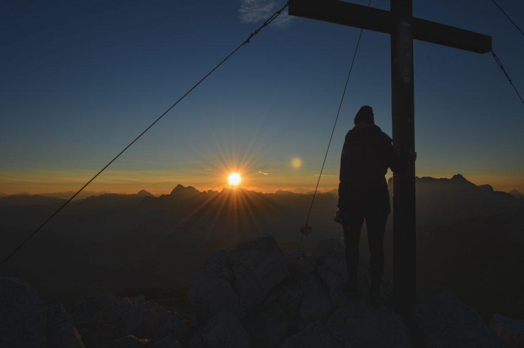 Sonnenaufgang Petz Hüttenwanderung