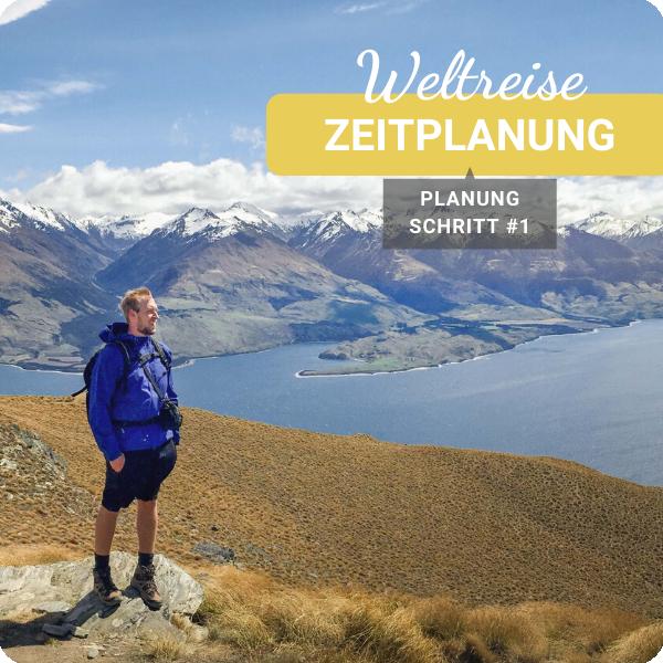 Weltreise planen Zeitplanung Weltreise Planung Checkliste Download