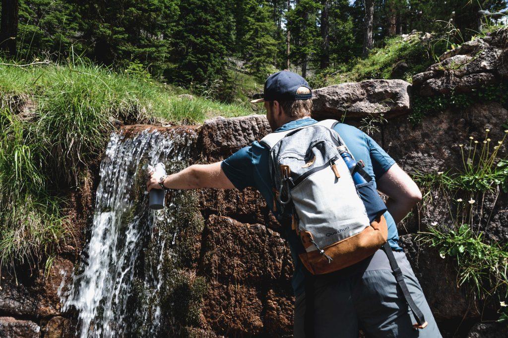Seceda Wanderung Erfrischung