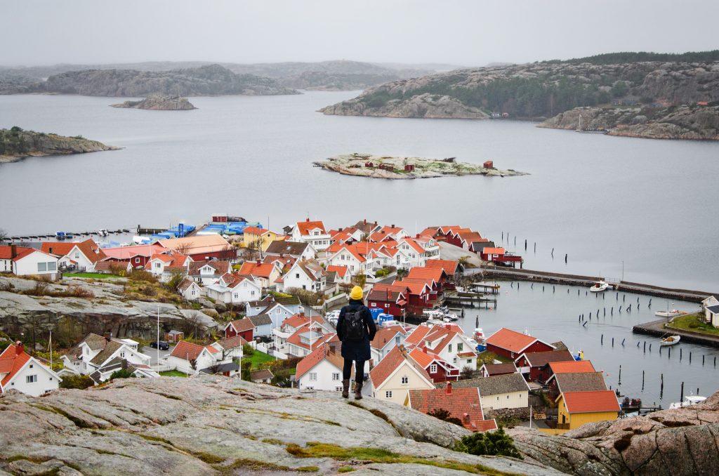 Aussichtspunkt Fjällbacka Schweden Westküste Schärenküste
