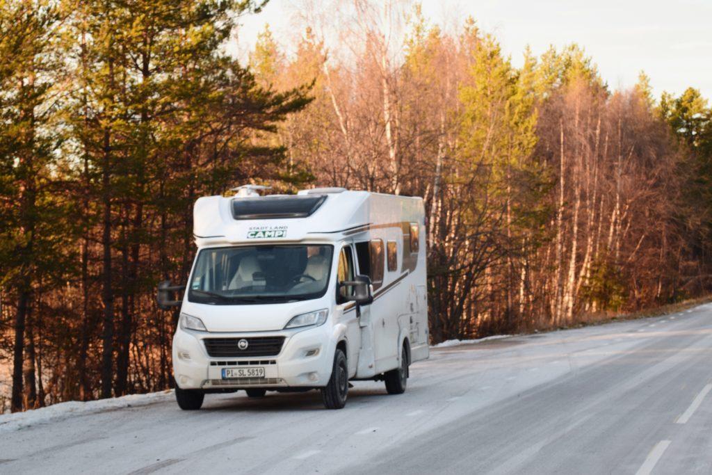 Straße Schweden