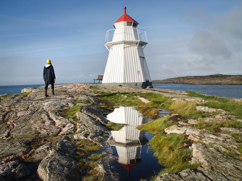 Krogstadsudda Leuchtturm Schweden Rundreise Route