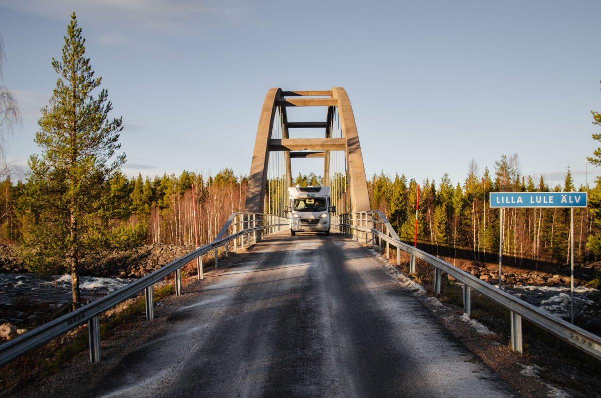 Unsere Roadtrip Route durch Schweden