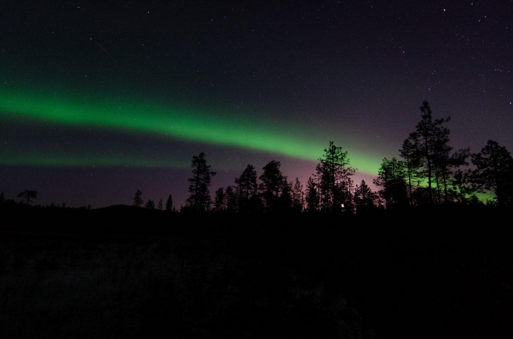 Nordlichter Lappland Skandinavien Schweden Polarkreis Jokkmokk