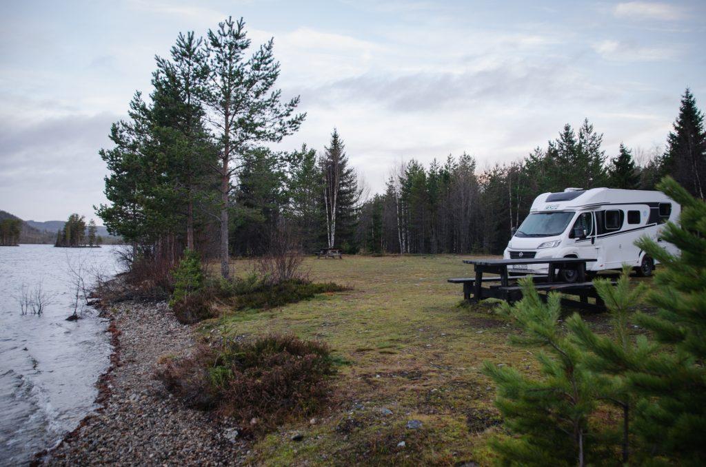 Östersund Stellplatz Schweden Roadtrip Camper Reise