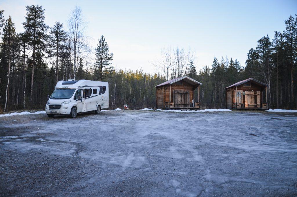 Skabram Camping Parkplatz