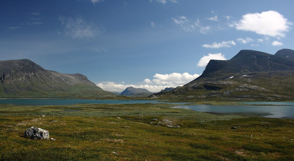 Sarek Nationalpark Schweden