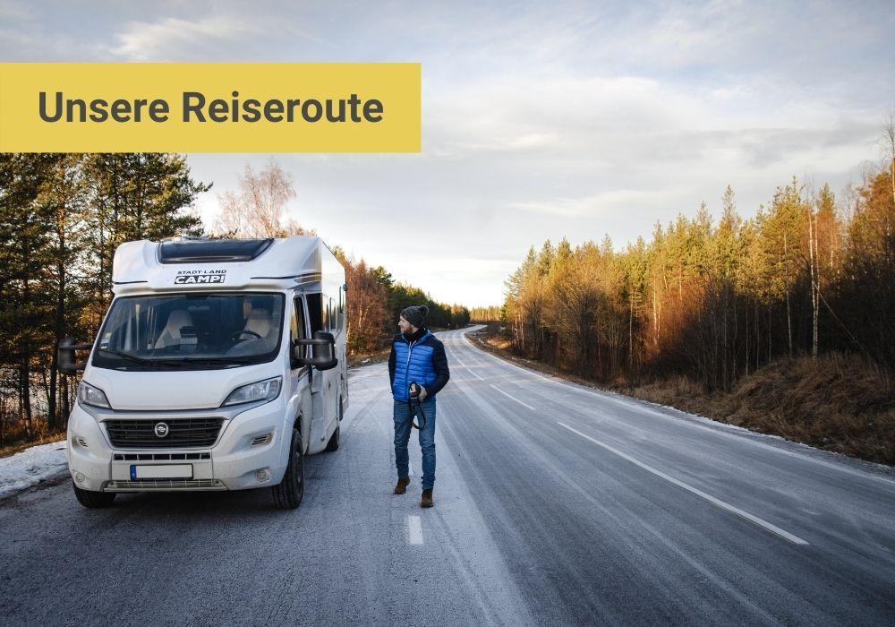 Schweden Route