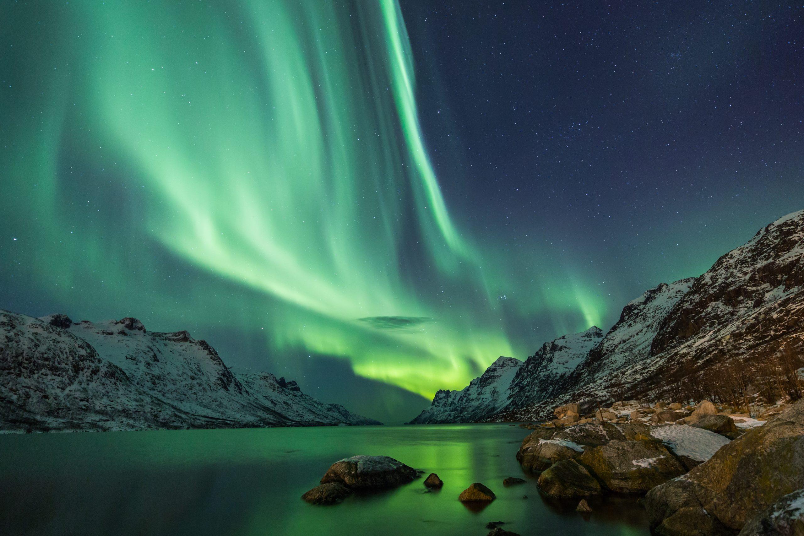Unsere Norwegen Route auf die Lofoten